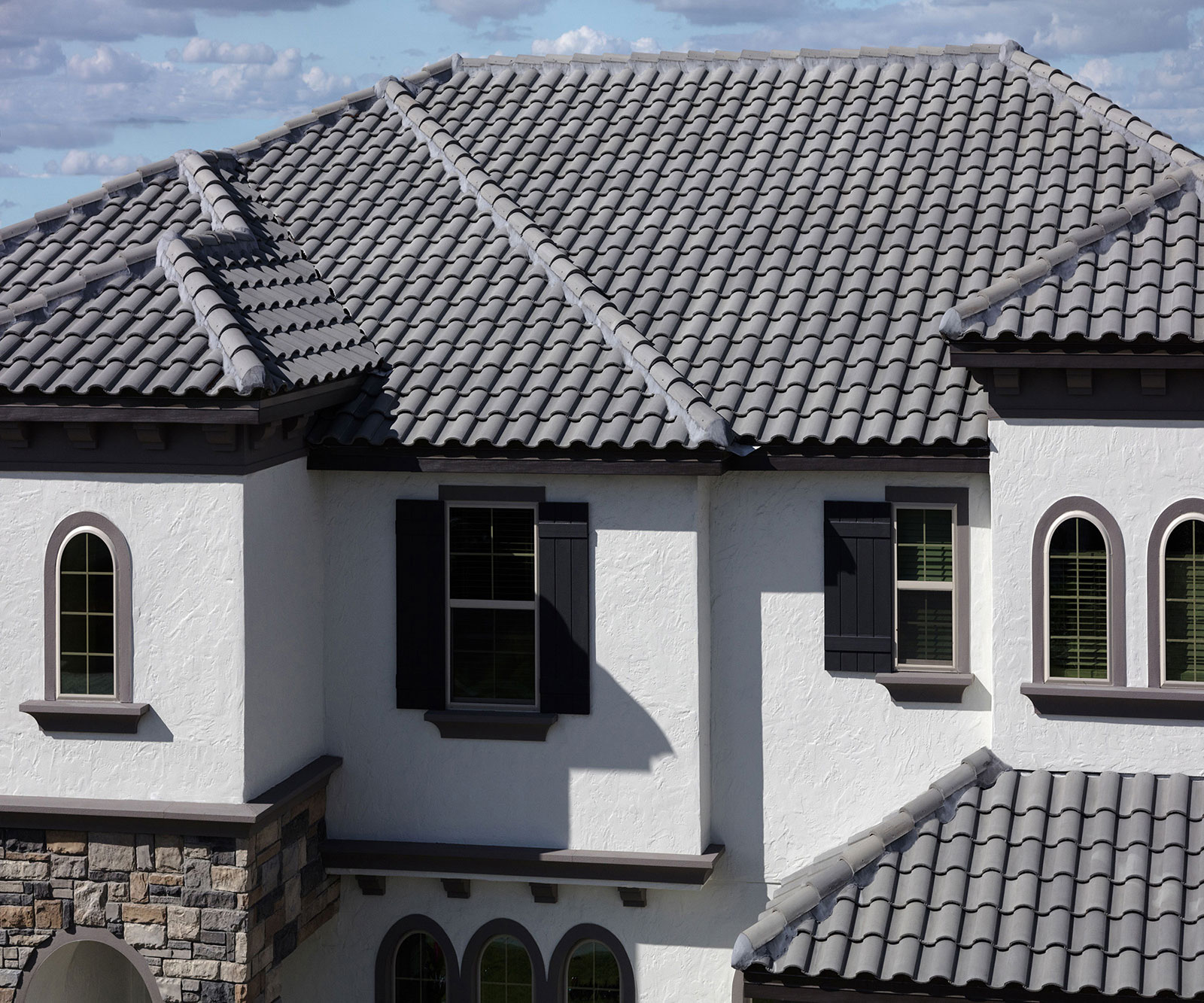 3679 eagle roofing for Barrel tile roof colors
