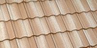 Tan Roof Tiles