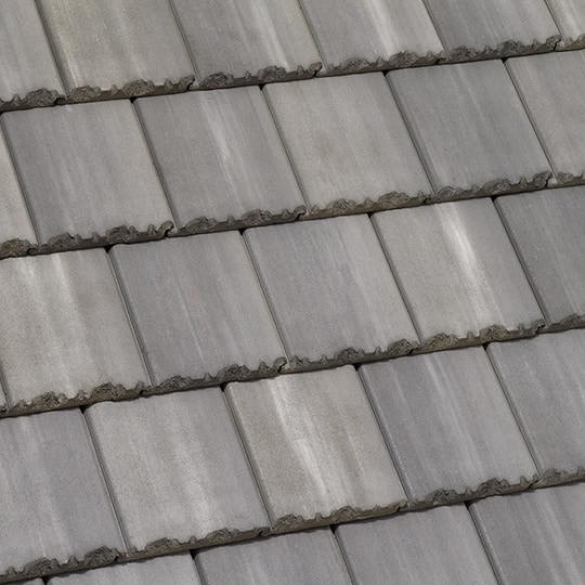 Roof Tiles: Tapered Slate Roof Tiles on a House