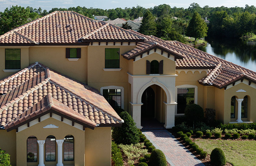 High Barrel Concrete Roof Tile Eagle Roofing