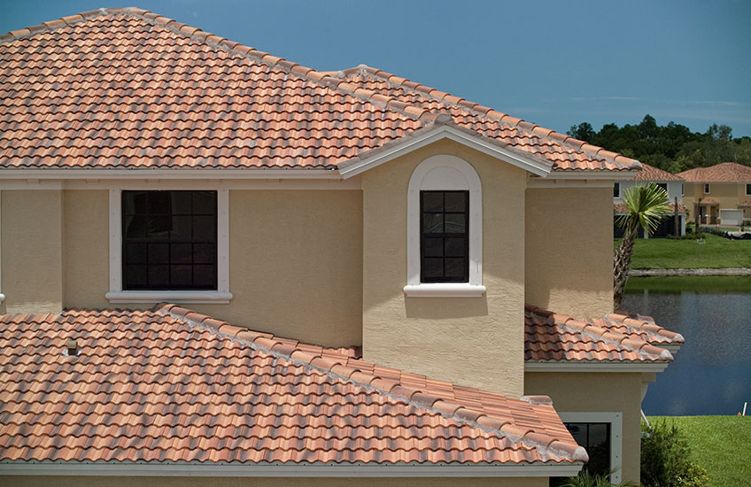 Medium Concrete Roof Tile Eagle Roofing
