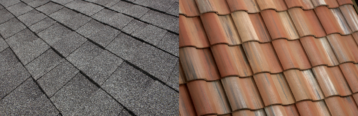 How do asphalt shingles compare to concrete roof tile eagle roofing shingles vs tile 1 ppazfo