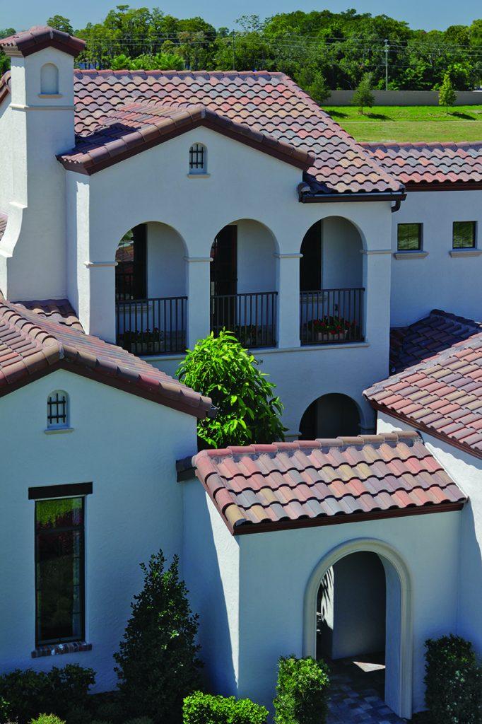 Eagle Design Corner Concrete Roof Tile Profiles To Fit