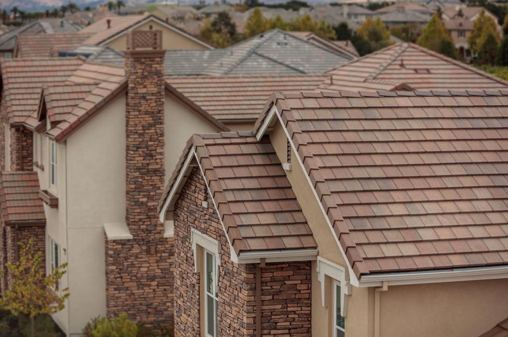 Eagle Design Corner Spring Inspired Concrete Roof Tiles