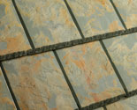 Textured Slate with Copper