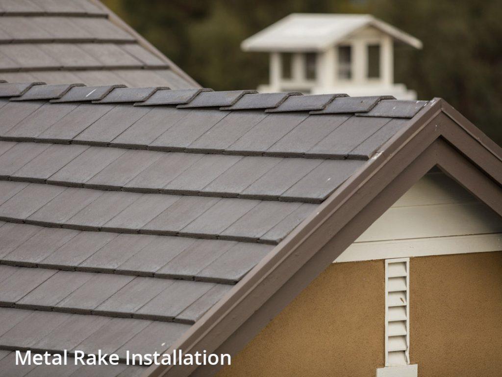 Eagle Design Corner Contemporary Concrete Roof Tile Installations Eagle Roofing